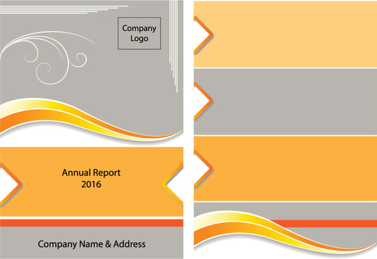 yollow annual report brochure template