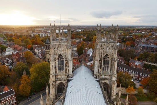 york from top