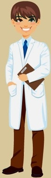 young doctor illustration