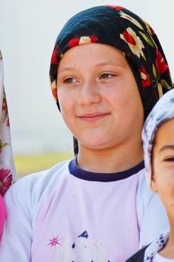 young turkish girl