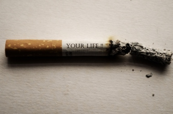 your life cigarette