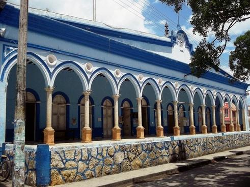 yucatan mexico building