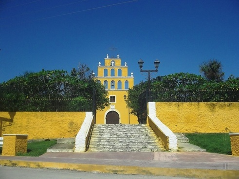 yucatan mexico church