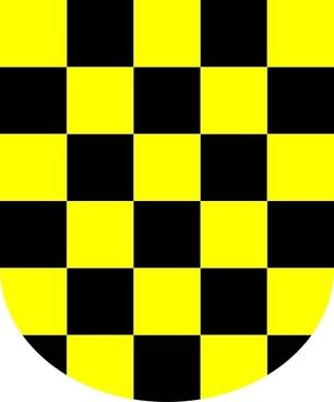 Yuri Award With Yellow Black Board clip art