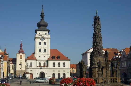 zatec czech republic town