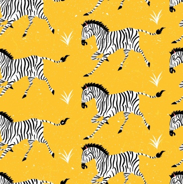 zebra background repeating colored design