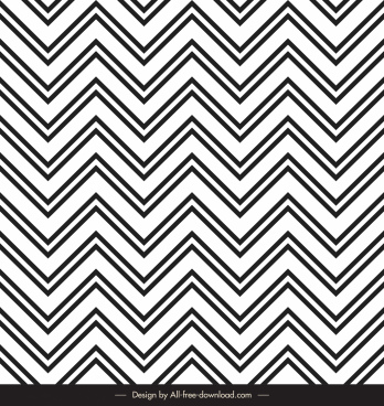 zigzag pattern template black white illusion symmetry sketch