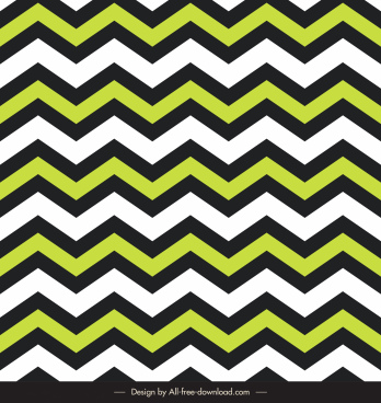 zigzag pattern template colorful illusion design