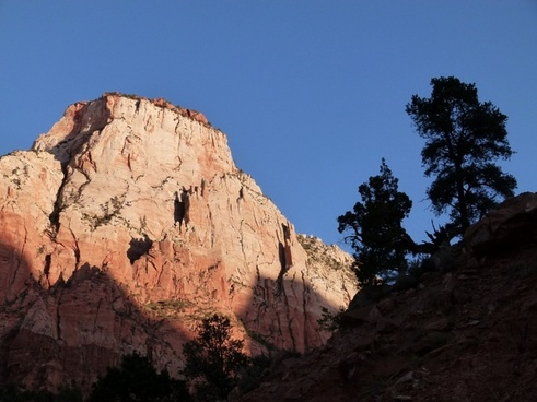 zion national park utah usa