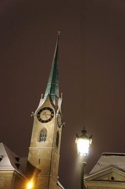 zurich night church