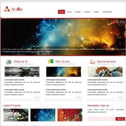 Acallia Development Template