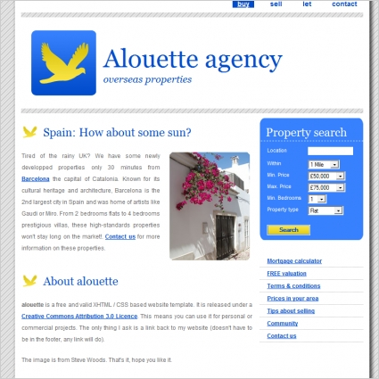 Alouette Agency Template