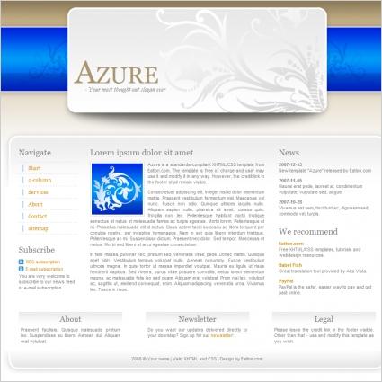 Azure template free website templates in css html js format for azure template maxwellsz