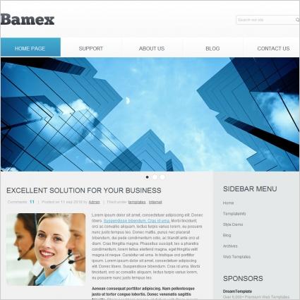 Bamex Template