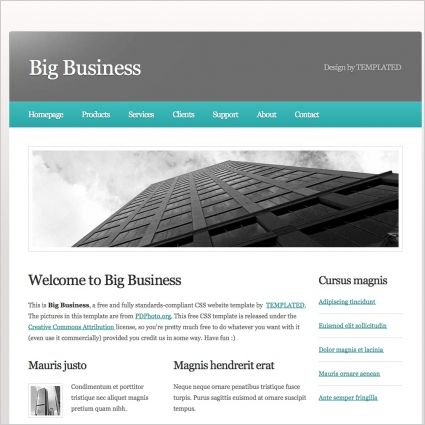 Big business free website templates in css html js format for free big business free website templates in css html js format for free download 34553kb accmission