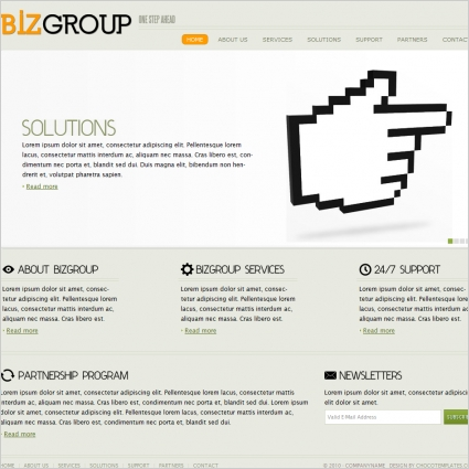 Biz Group Template