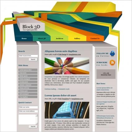 Block 3d free website templates in css html js format for free block 3d free website templates in css html js format for free download 11077kb maxwellsz