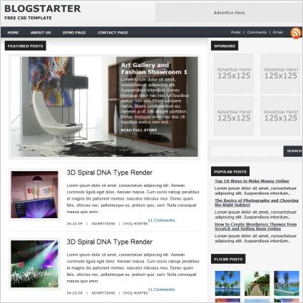 Blog Starter Template