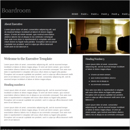 Boardroom Template