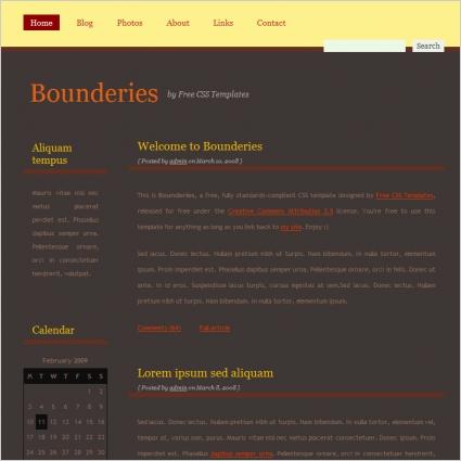 bounderies