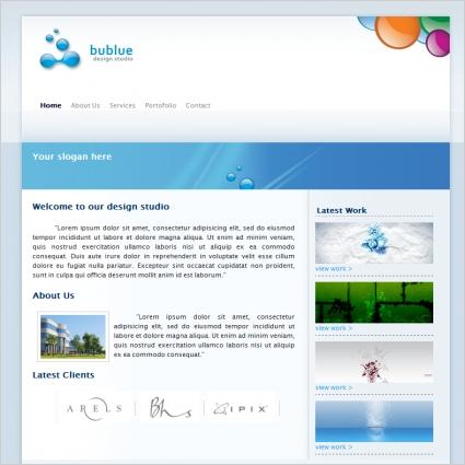BuBlue Template