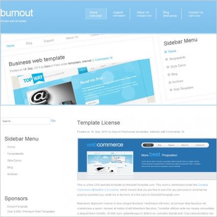 Burnout Template