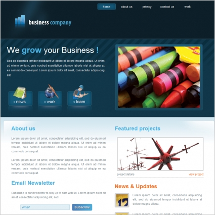 Business company template free website templates in css html js business company template online preview friedricerecipe Image collections