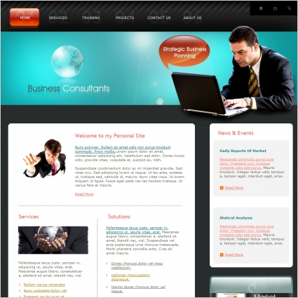 Business consultants template free website templates in css html business consultants template wajeb Image collections