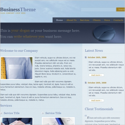 BusinessTheme Template