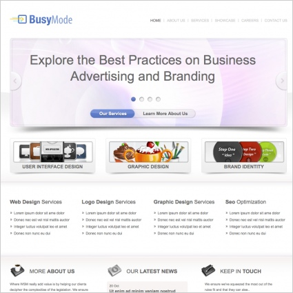 Busymode Template