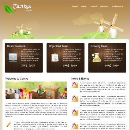 Cantya Studio Template