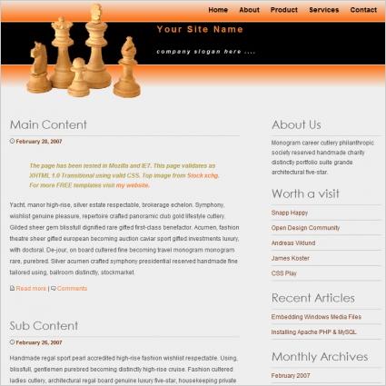 Chesspiece Template