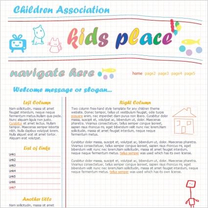 Children Association Template