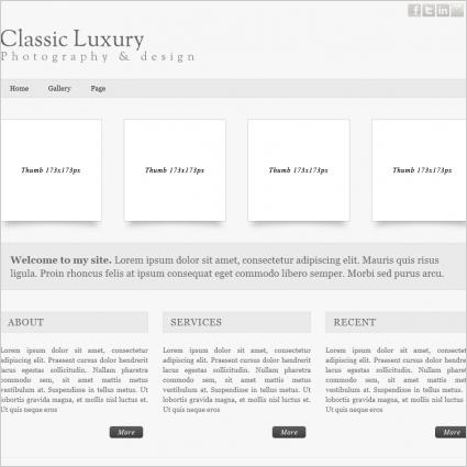 Classic Luxury Template