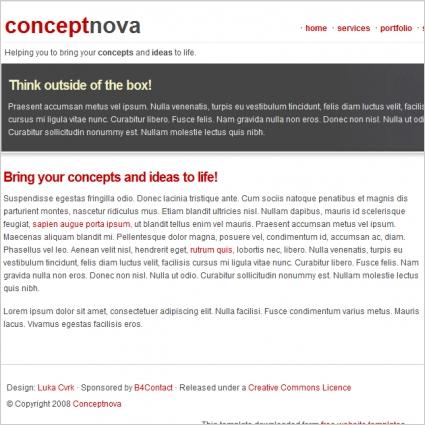 Conceptnova Template