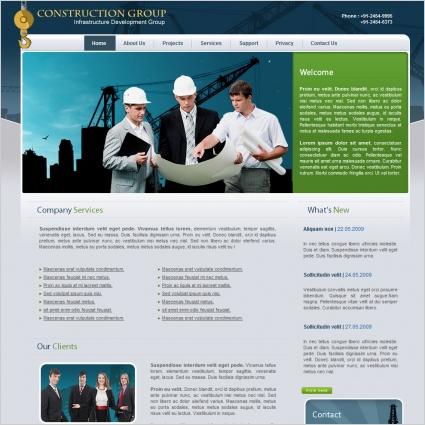 Builders website template wordpress 41 construction website themes.