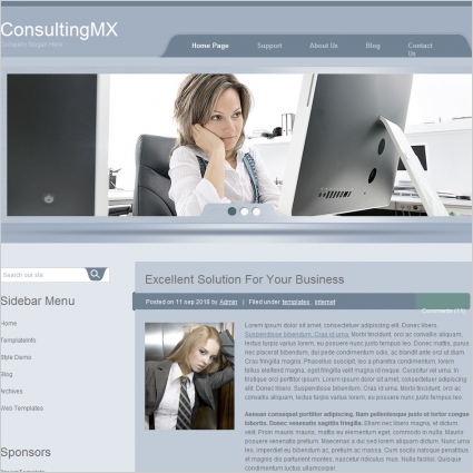 Consulting MX Template