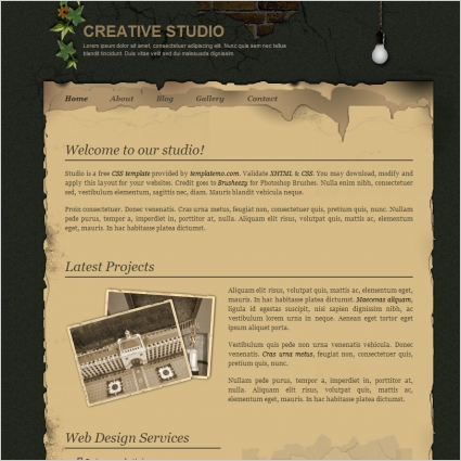 creative Free website templates in css, html, js format for free ...