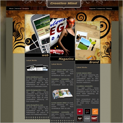 Creative Mind Template Free website templates in css, html, js ...
