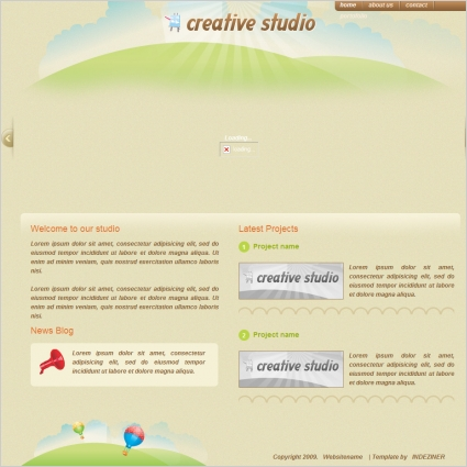 Creative Studio Template