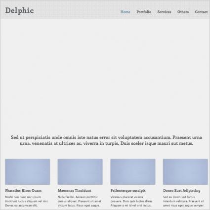 Delphic Template
