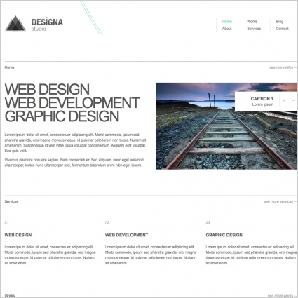 Designa Studio Template