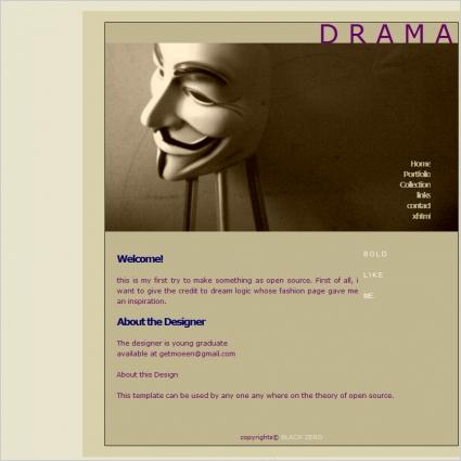Drama Template