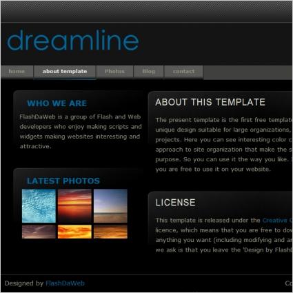 dreamline Template