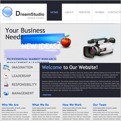 DreamStudio Template