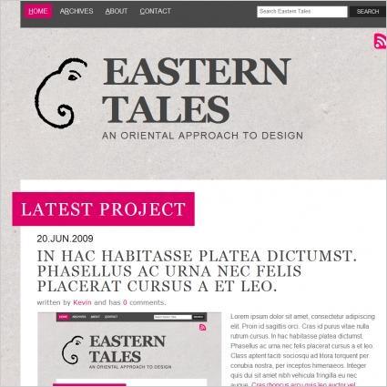 Eastern Tales Template