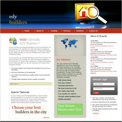 EDY Builders Template