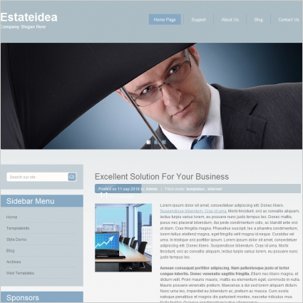 Estate idea Template Free website templates in css, html, js format ...