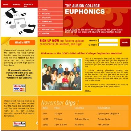 Euphonics Template