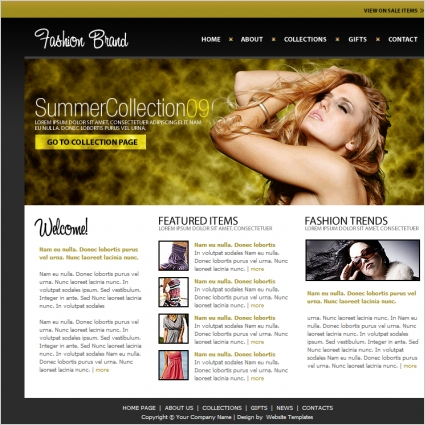 Fashion Brand Template